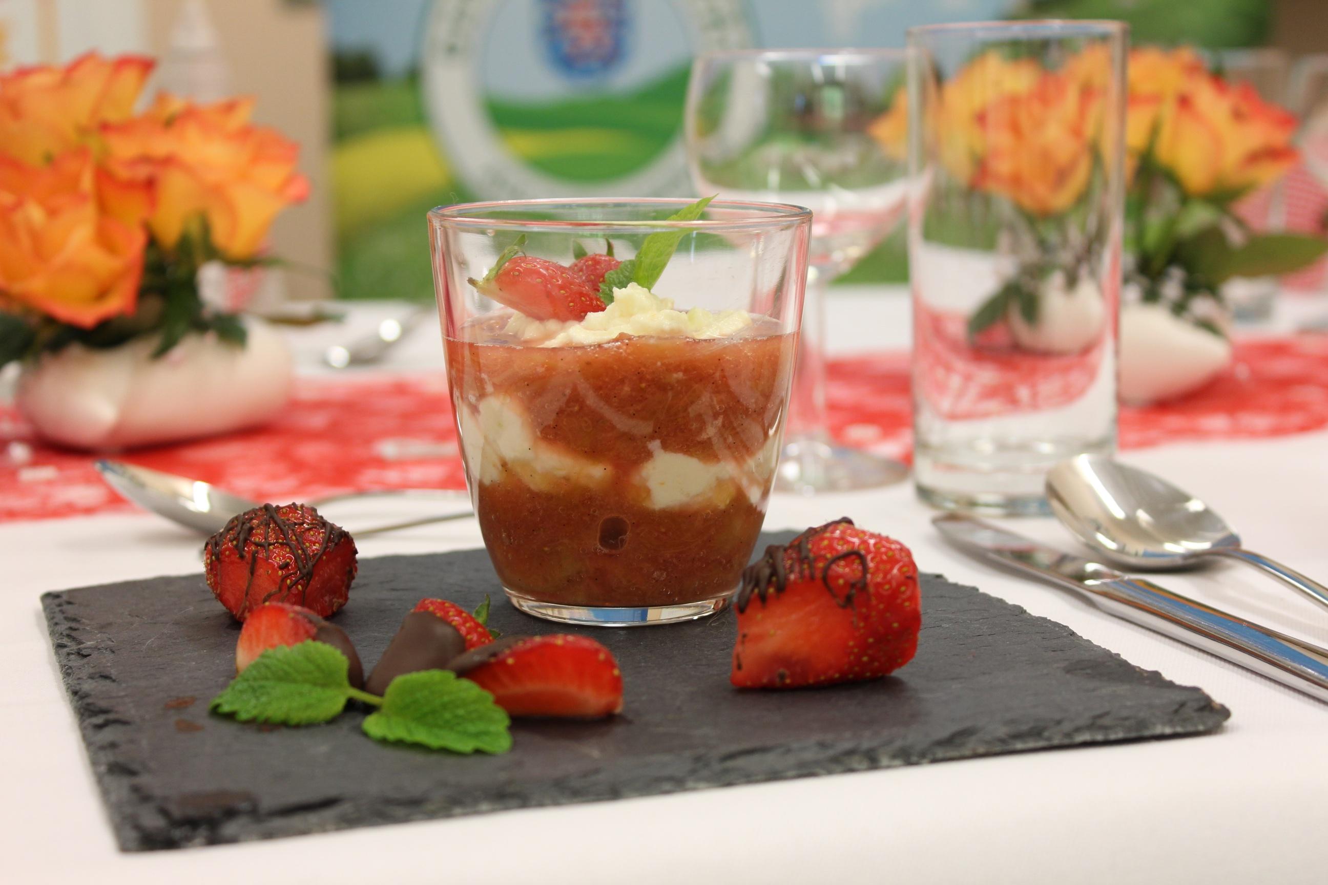Dessert von Schülern aus Apolda